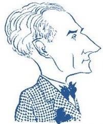 Caricature de Maurice Ravel
